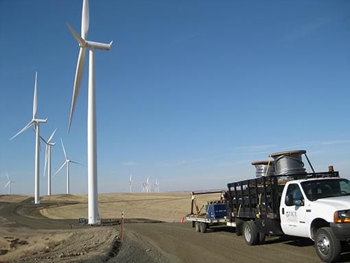 Dodge Junction windmills