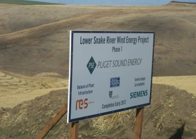 Lower Snake Phase 1 Wind Energy Project