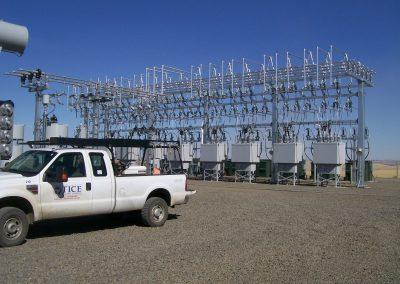 Lower Snake Phase 1 Electrical substation